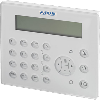 VANDERBILT (SIEMENS) IKP6-03 με φωτιζόμενη οθόνη LCD