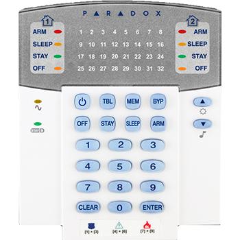 Πληκτρολόγιο PARADOX K32 (32 ζώνες LED)