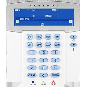 Ασύρματο Πληκτρολόγιο PARADOX K37 (37 ζώνες LED)