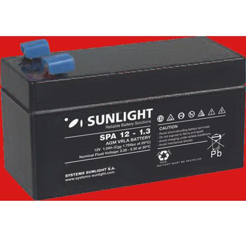 Sunlight 12V/1,3Ah