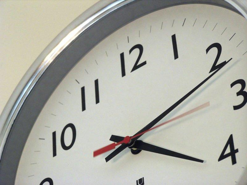 ρολόι και έλεγχος συστήματος ασφαλείας